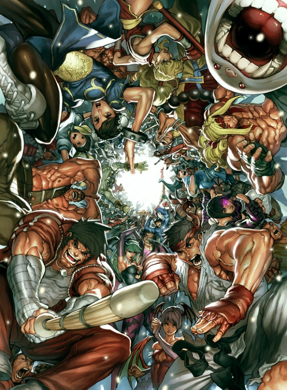 Street Fighter por NgBoy