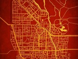City Prints, mapas reales de ciudadesficticias